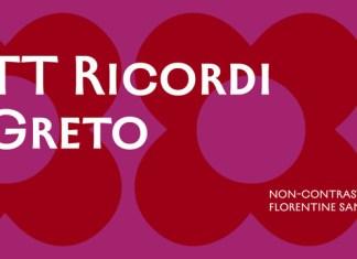 TT Ricordi Greto Font