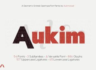 Aukim Font