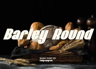 Barley Round Font