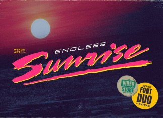 Endless Sunrise Font