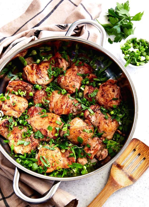 Boneless Chicken Thigh Recipe i FOOD Blogger