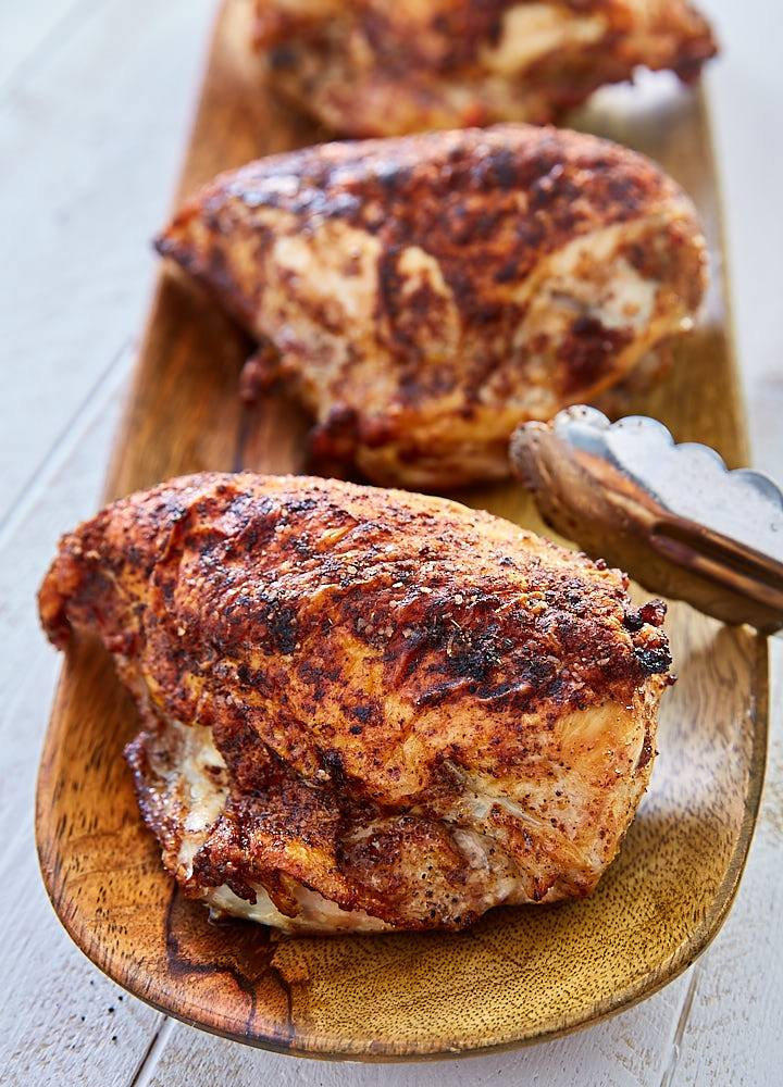Crispy Oven Roasted Chicken Breast - i FOOD Blogger