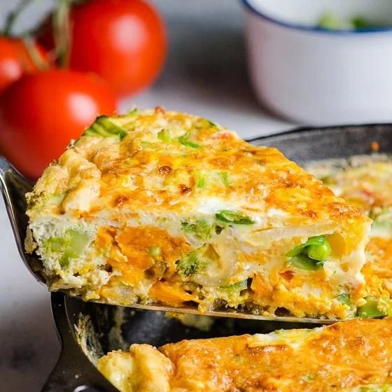 Vegetable Frittata - iFOODreal