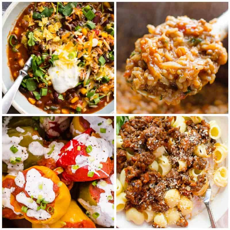 Ground Turkey Instant Pot Meals - 30 Healthy Easy Instant Pot Recipes - iFOODreal - Healthy ...