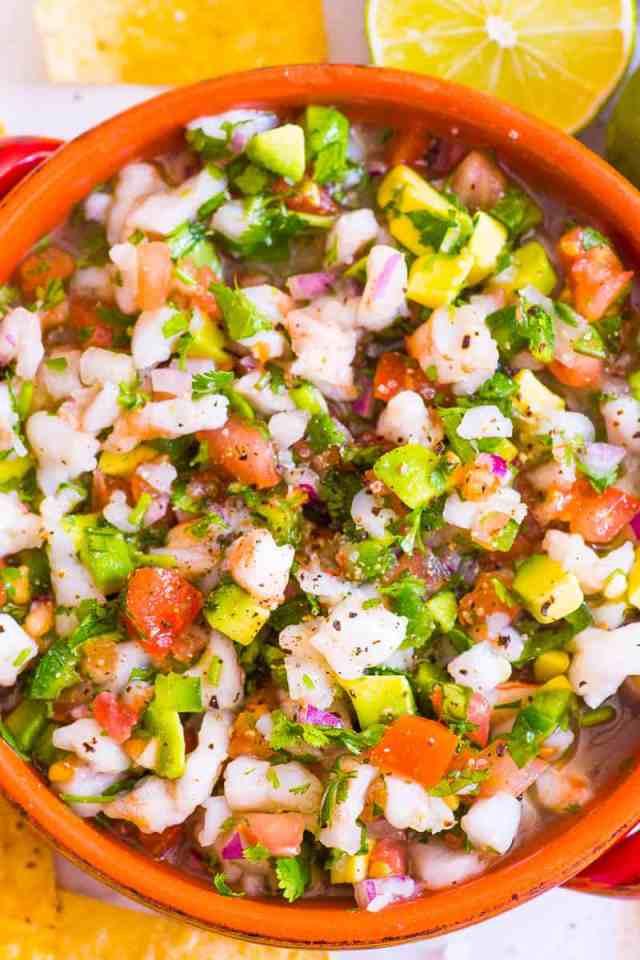 Best Ever Shrimp Ceviche Recipe