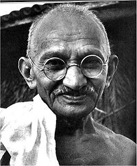 Gandhi heute