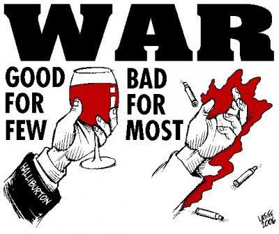 Krieg ist für einige gut, aber für die meisten schlecht
