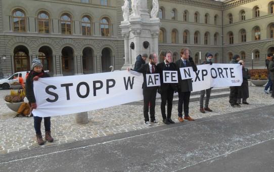 Schweizer Kriegsmaterialexporte: Beihilfe zum Mord