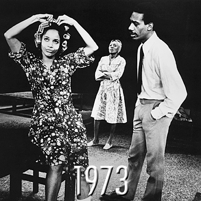 """After the success of A Raisin in the Sun on the Great White Way, Nemiroff teamed up with Charlotte Zaltzberg to write the book for a musical adaptation of Hansberry's groundbreaking play. Judd Woldin and Robert Brittan wrote the score, a mix of jazz, blues, gospel and of course, traditional musical theater. """"It is a strange [musical] but a good one,"""" The New York Times reported. """"It warms the heart and touches the soul."""" Starring Joe Morton as Walter Lee, Ernestine Jackson as Ruth and Virginia Capers as Mama Lena, Raisin won two Tony Awards, including Best Musical."""