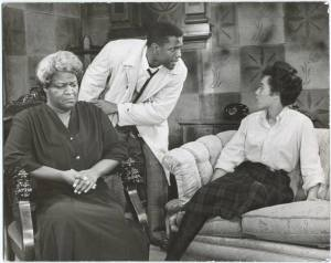 Claudia McNeil, Sidney Poitier and Diana Sands (original Broadway produciton)