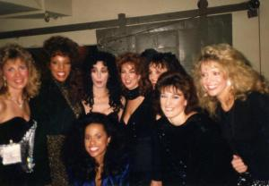 """""""My Academy Award performance the year Cher (standing next to me) won her Oscar!"""""""