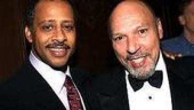 Ruben Santiago-Hudson and August Wilson