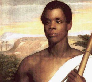 Amistad Leader Joseph Cinque Tried For Mutiny Today In 1840.