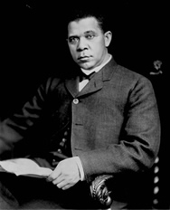 Tuskegee Institute founder, Booker T. Washington  Courtesy of The Library of Congress