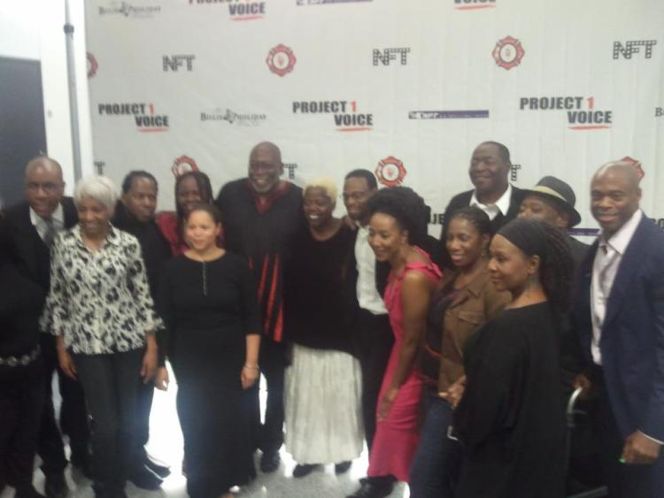 Cast of Project 1 Voice Presents The Amen Corner by James Baldwin