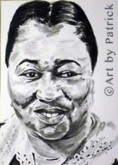 Hattie McDaniel by Patrick Smith - PatrickSmithArt