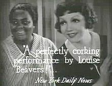 Imitation of Life (1934)-LouiseBeavers Claudette Colbert