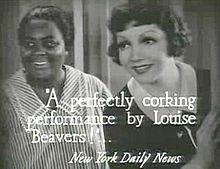 Imitation of Life (1934)-LouiseBeavers Claudette Colbert