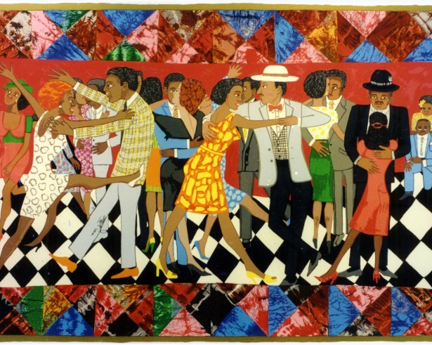 Faith Ringgold Groovin' High, 1996 Screen Print
