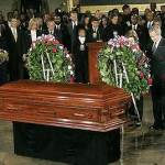 President Bush paying tribute to Rosa Parks.