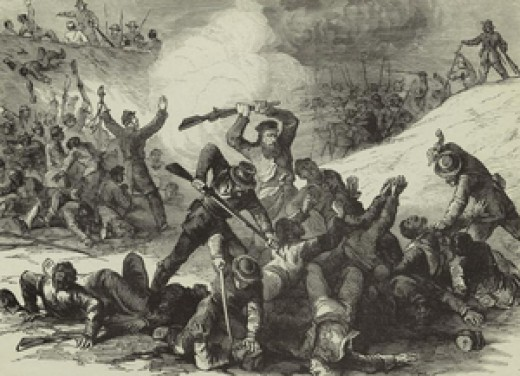 Widely considered a Rebel massacre. Over 200 Union black soldiers were killed. Most reportely after they surrended.