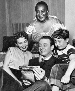 """""""Louise Beavers played the maid on Make Room For Daddy for only the 1953-54 season."""""""