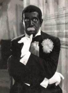 "AL JOLSON is a travelling minstrel in the classic 1930 film musical ""MAMMY""."