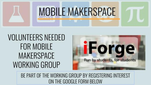 Mobile Makerspace Recruitment Poster