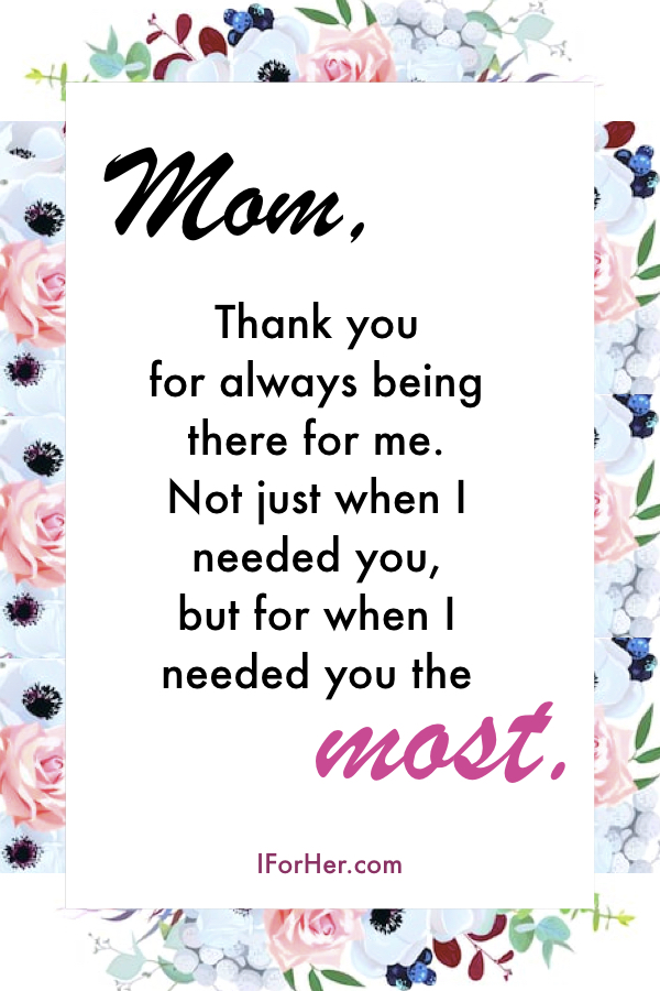 Thank You Mother Quotes : thank, mother, quotes, Thank, Quotes, Daughter
