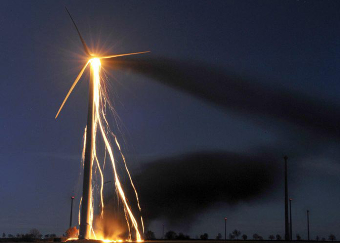 Report Identifies Fire as a Major Cause of Wind Turbine Failures_IFP_Magazine