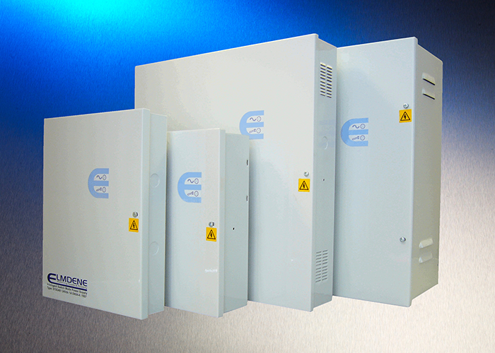 Elmdene switches to STX PSU range with Ecocharge to power EN54-4 compliant fire systems