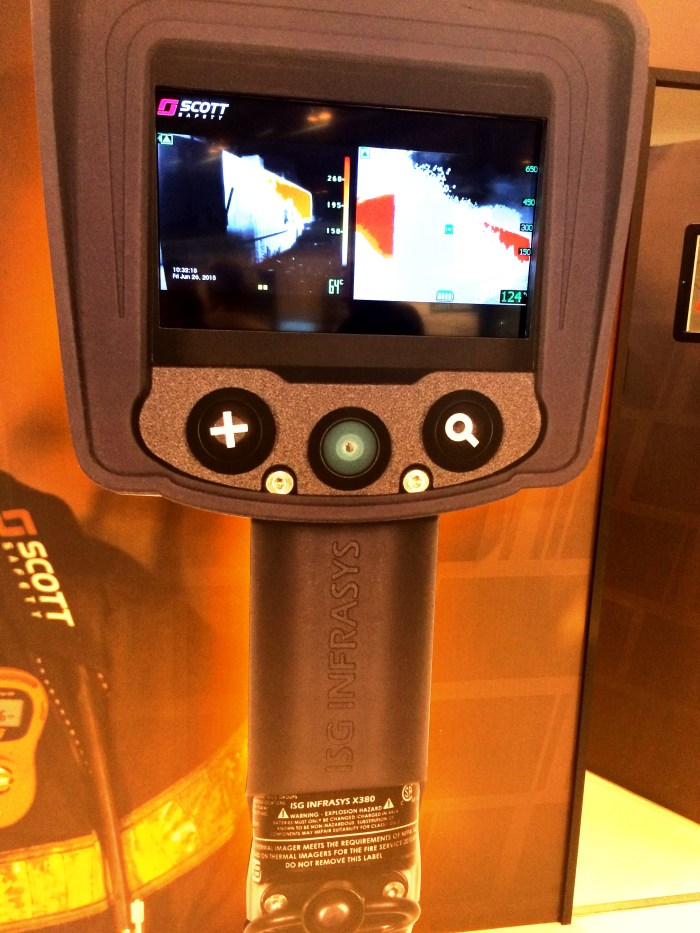 Scott Safety X380 thermal imaging camera