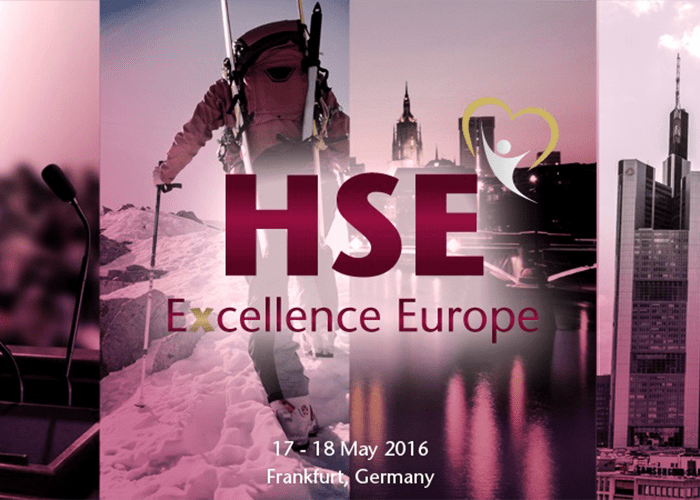 New era of HSE Excellence starting in Frankfurt, May 2016