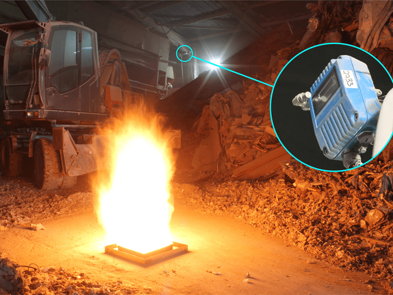 FFE's Talentum Flame Detectors Protecting Winters Recycling
