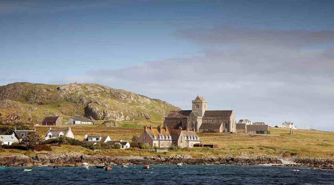 The historic Iona Abbey, in the Inner Hebrides, is protected by Advanced MxPro panels.