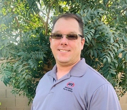 Chad Connor, Affordable Fire & Safety. (Image copyright: Affordable Fire & Safety)