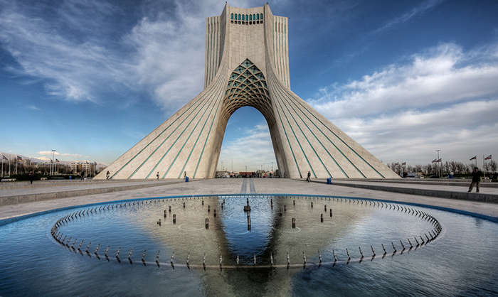 Tehrans Towers How Iranian Capital Embraced Bold