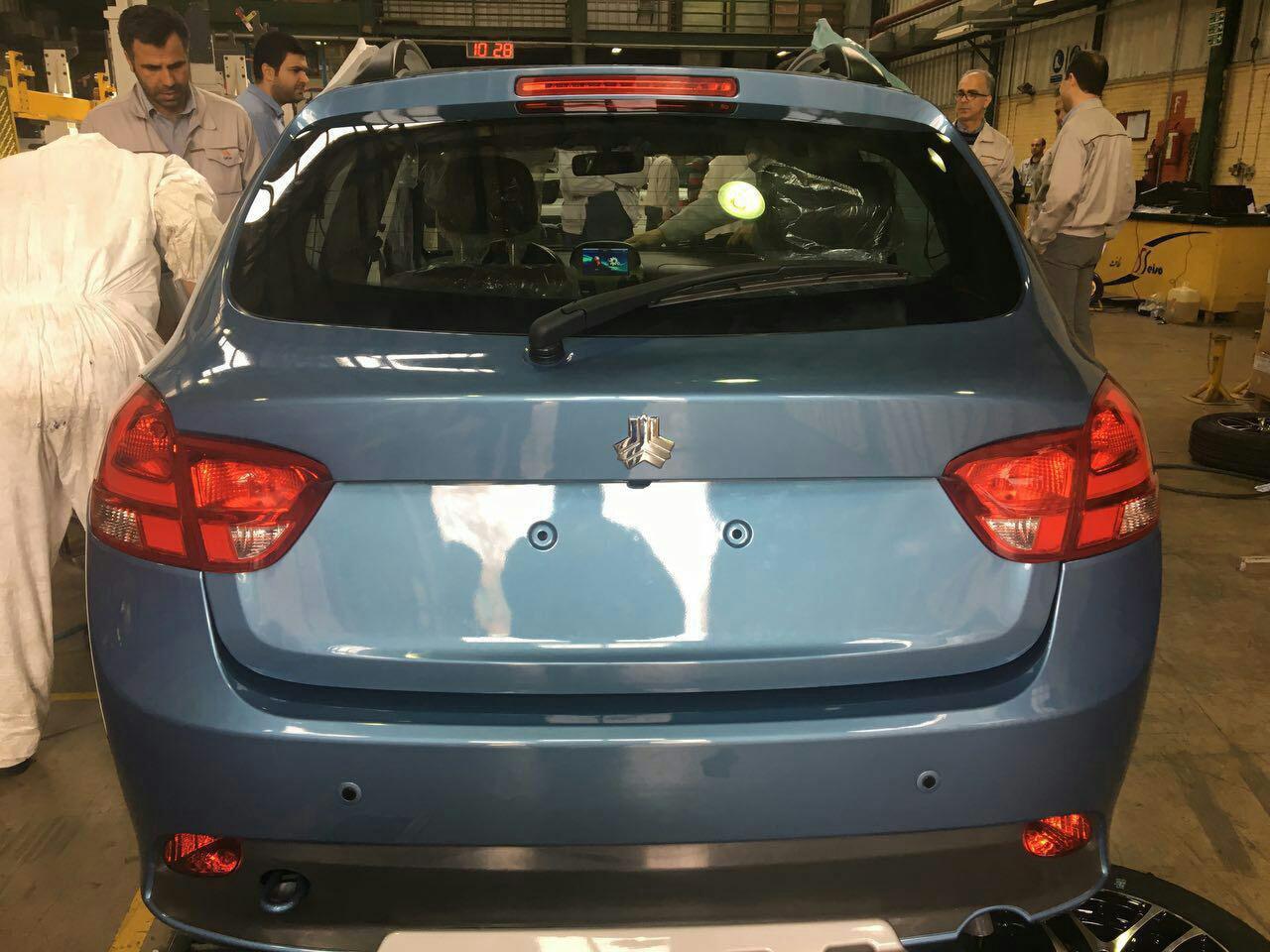 SAIPA Unveils Irans Cheapest Car with Auto Transmission