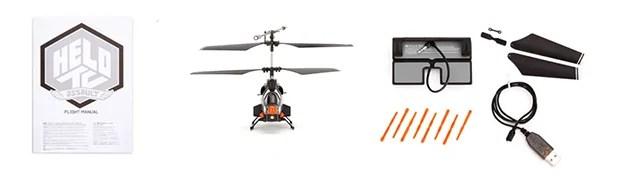 Per Smartphone steuerbarer Helikopter