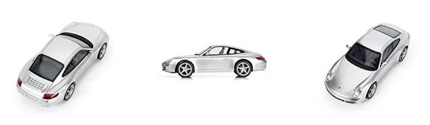 Per iPhone steuerbarer Modell-Porsche