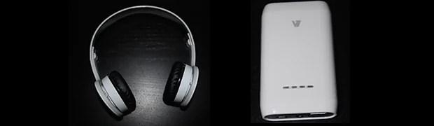 V7 Bluetooth Headset & Powerbank