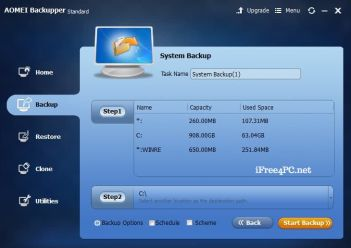 AOMEI Backupper Pro 6.6.1 Crack With Keygen [All Editions Free] 2022