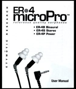 Etymotic Research ER-4B紹介