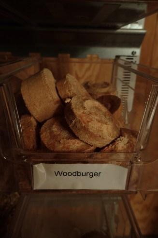 Tasty woodburger