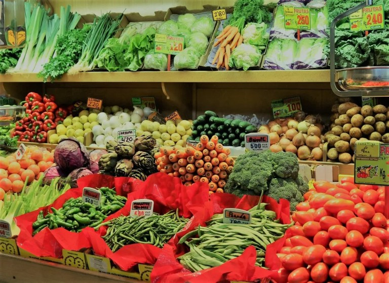 In my life ~ The Green Grocer Shuffle