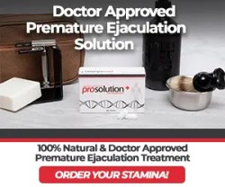 Premature Ejaculation Solution