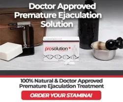 Premature Ejaculation Solution