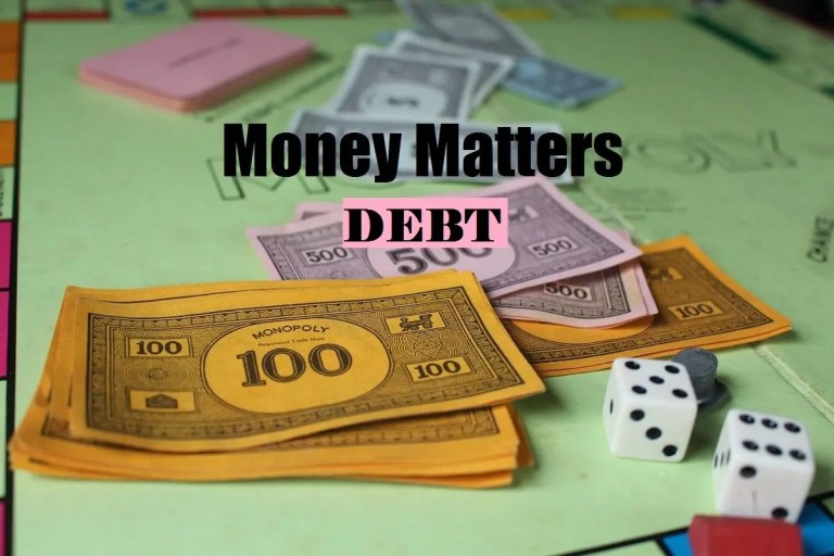 Money Matters Meme ~ Debt