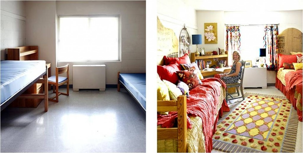 Feng Shui Dorm Room Before and After  IFSG Blog