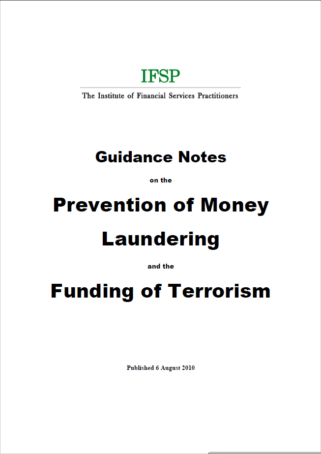 IFSP Guidance Notes on PMLFT (Second Edition)